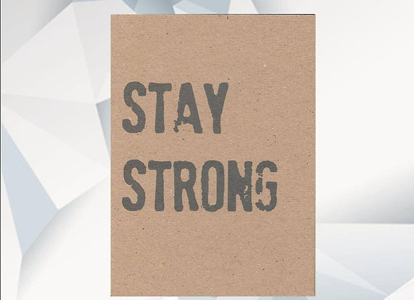 'Stay Strong' Cancer Card