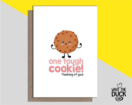 Tough Cookie - Empathy Card