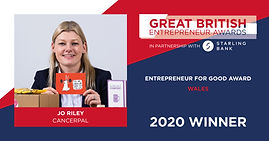 GBEA Entrepreneur for Good Award Wales 2020
