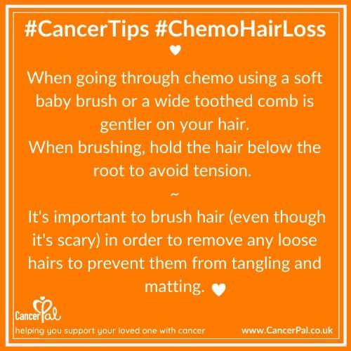 #CancerTips #ChemoHairloss