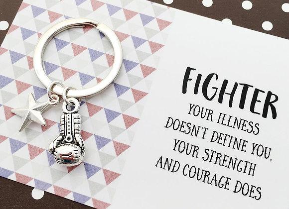 Fighter - Strength Keyring