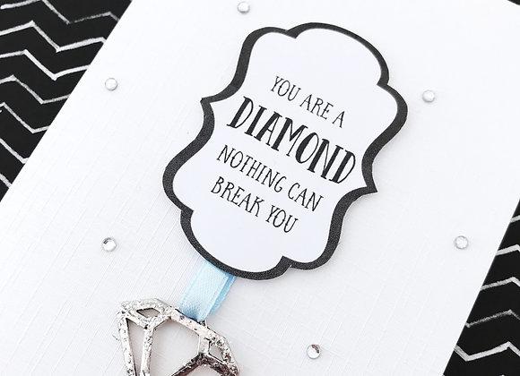 Diamond Strength Cancer Card