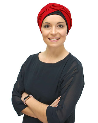 Kimmy - Chemo Hat with Infinity Band