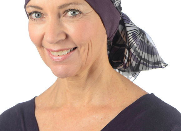 Chemo Headscarf with Hat - Sienna