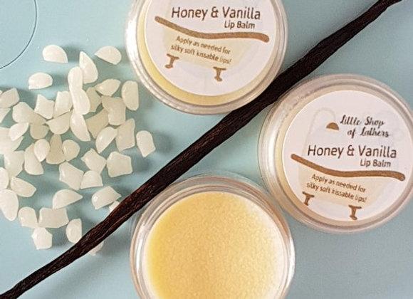 Honey & Vanilla Lip Balm