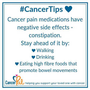 #CancerTips #StayAheadOfConstipation