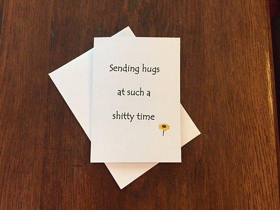 Sending hugs - Empathy Card