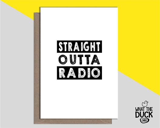 Straight Outta Radio - Empathy Card