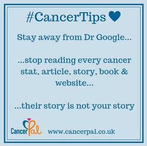 #CancerTips Stay away from Dr Google