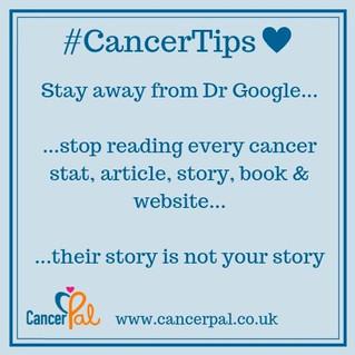 DrGoogle #CancerTips