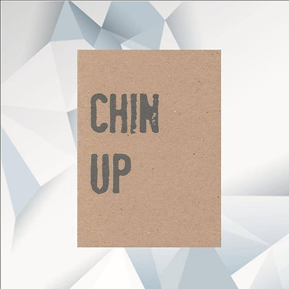 'Chin Up' Cancer Card