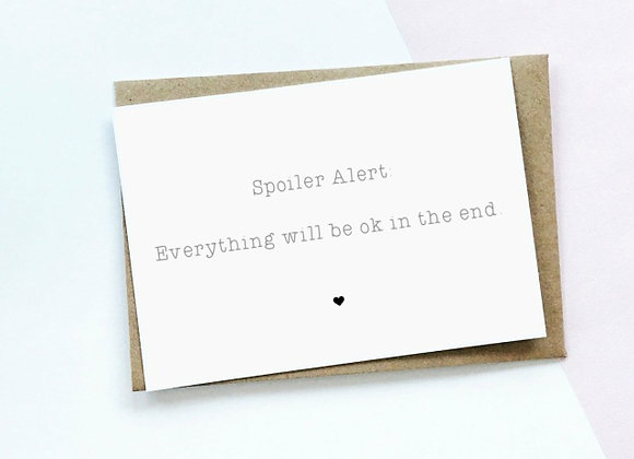 Spoiler Alert - Empathy Card