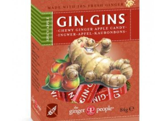 Gin Gins Spicy Apple Ginger Chews 84g