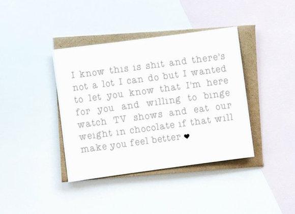 Here for you - Empathy Card