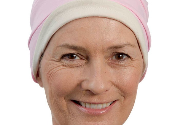Kim Reversible Soft Hat - Pink/Stone