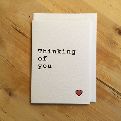 'Thinking Of You' Cancer Card