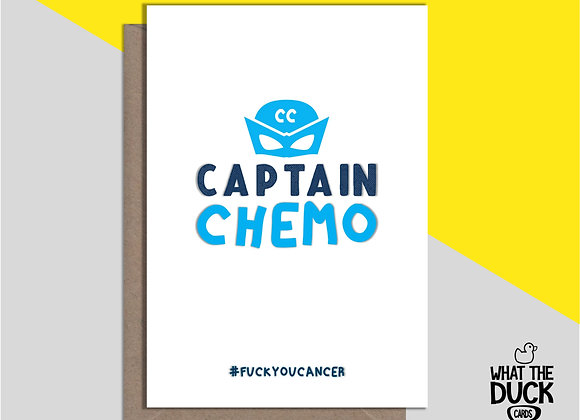 Captain Chemo - Empathy Card
