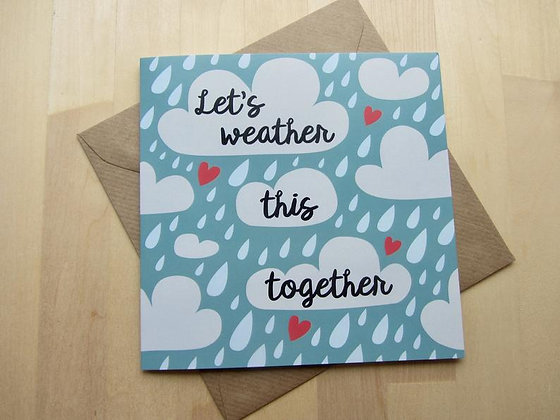 'Weather This Together' Cancer Card