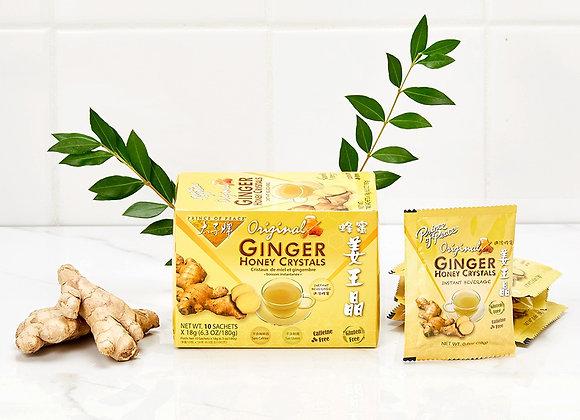 Ginger Honey Crystals