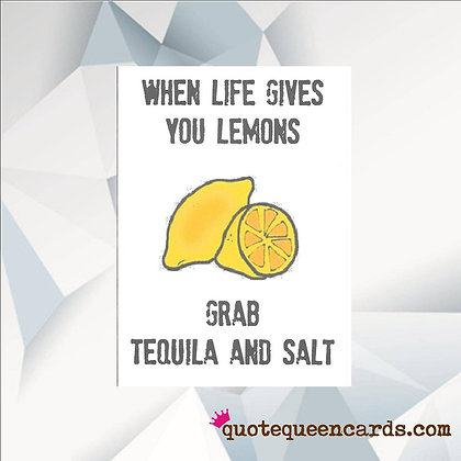 When Life Gives You Lemons - Empathy Card