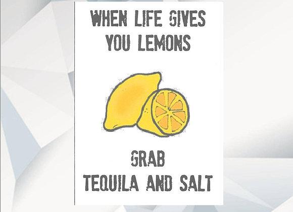 When Life Gives You Lemons - Empathy Card