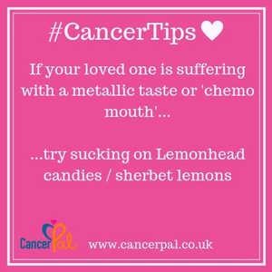 #CancerTips #ChemoMouth Lemonheads