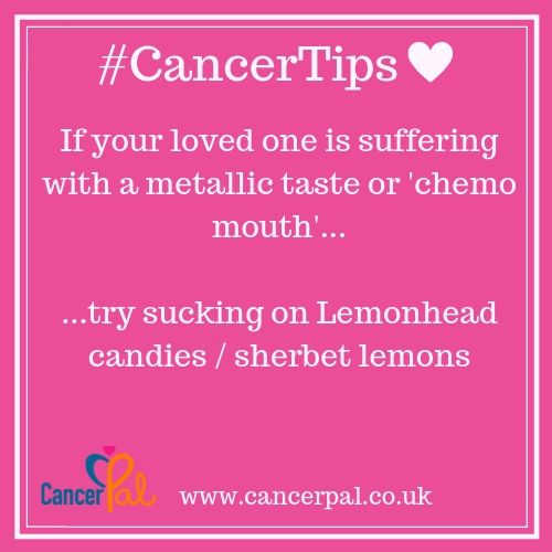 #CancerTips #ChemoMouth Lemonheads