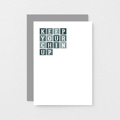 'Chin Up' Cancer Card