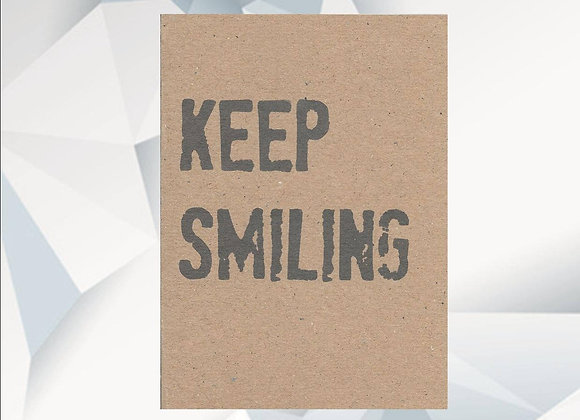 'Keep Smiling' Cancer Card