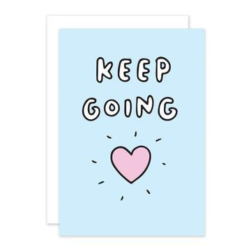 'Keep Going' Cancer Card
