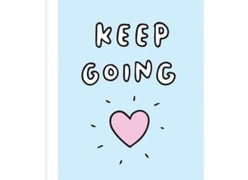 'Keep Going' Cancer Card