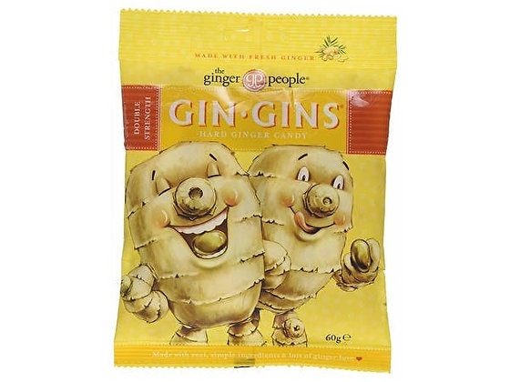 Gin Gins Double Strength Ginger Hard Boiled Sweets 60g