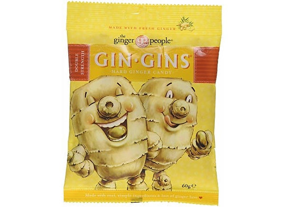 Gin Gins Hard Boiled Sweets 60g