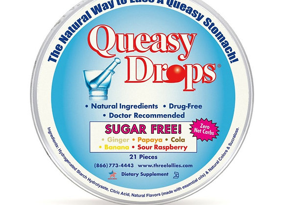Queasy Drops Sugar Free - Assorted Flavours