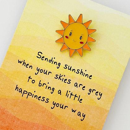 Sending Sunshine Pin