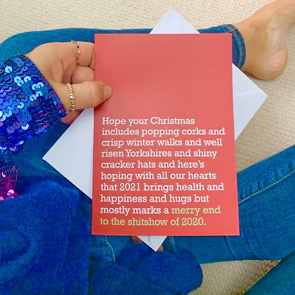 The Sh@tshow Of 2020 - Christmas Card