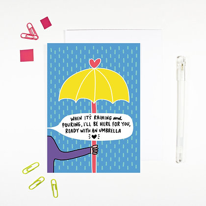 'When It's Raining' Cancer Card
