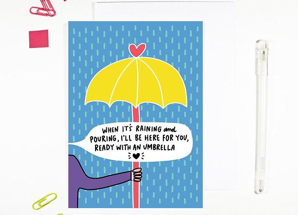 'When It's Raining' Cancer Card