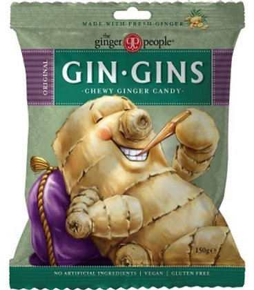 Gin Gins Ginger Chews 150g