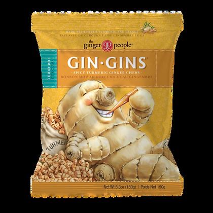 Gin Gins Tumeric Ginger Chews 150g