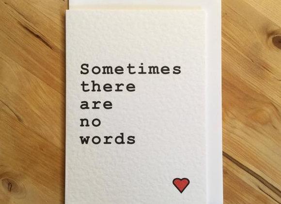 No words - Empathy Card