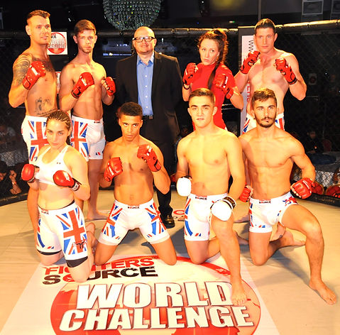 Fighters Source League, Team London 2014