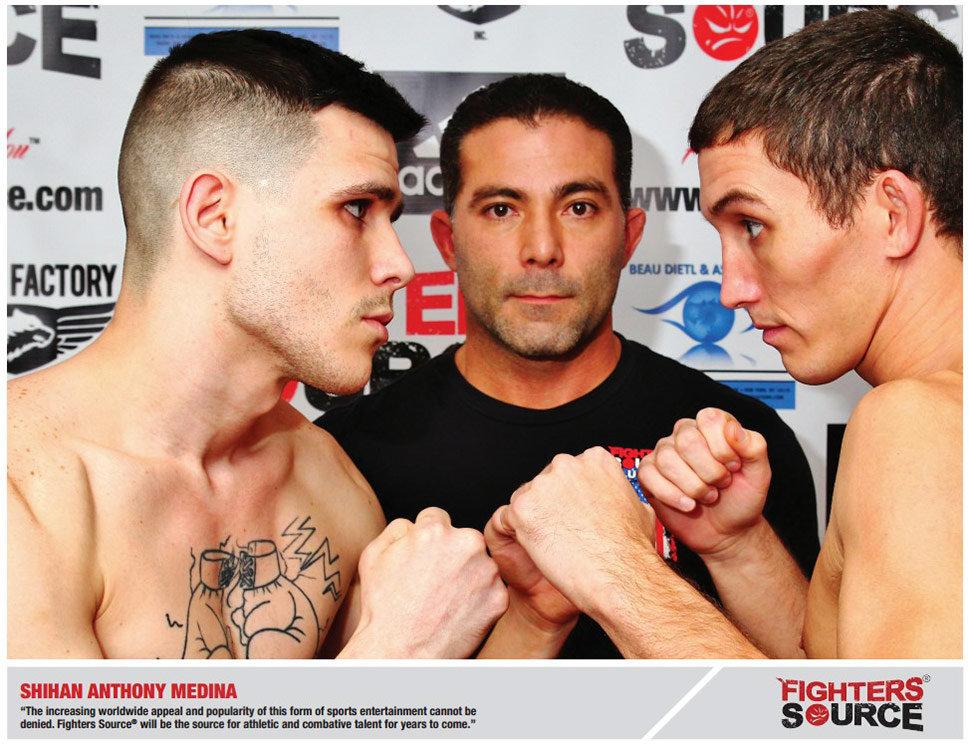 Fighters Source, Fighters Source League, Amateur MMA, MMA League, League Executives, Anthony Medina