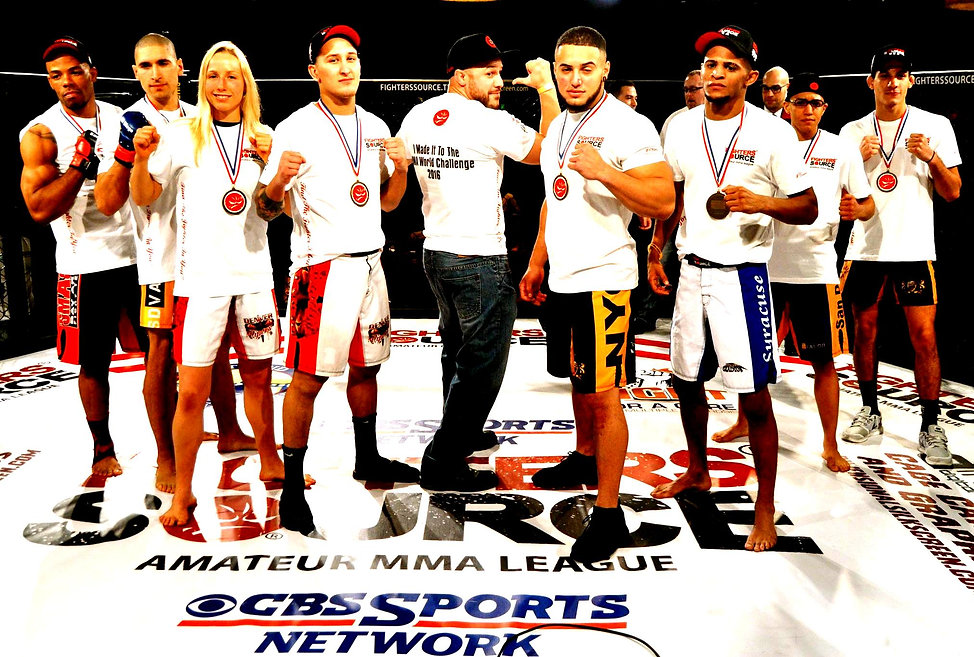 Fighters Source League 2015 Champions