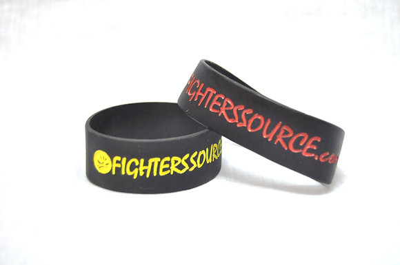 FS Wristbands, Red, Yellow, 10mm,