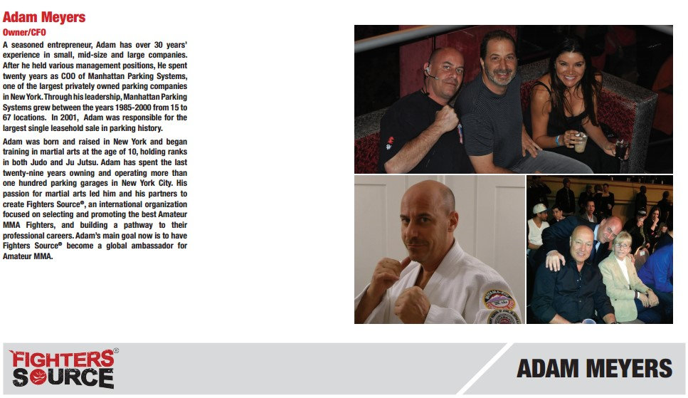 Fighters Source, Fighters Source League, Amateur MMA, MMA League, League Executives, Adam Meyers