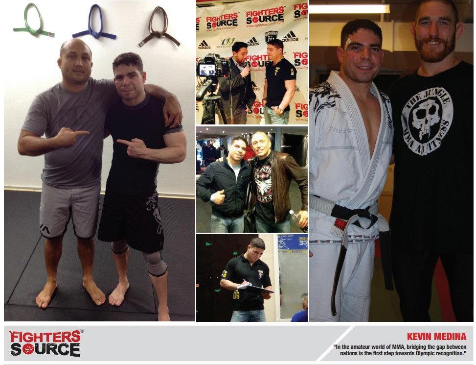 Fighters Source, Fighters Source League, Amateur MMA, MMA League, League Executives, Kevin Medina