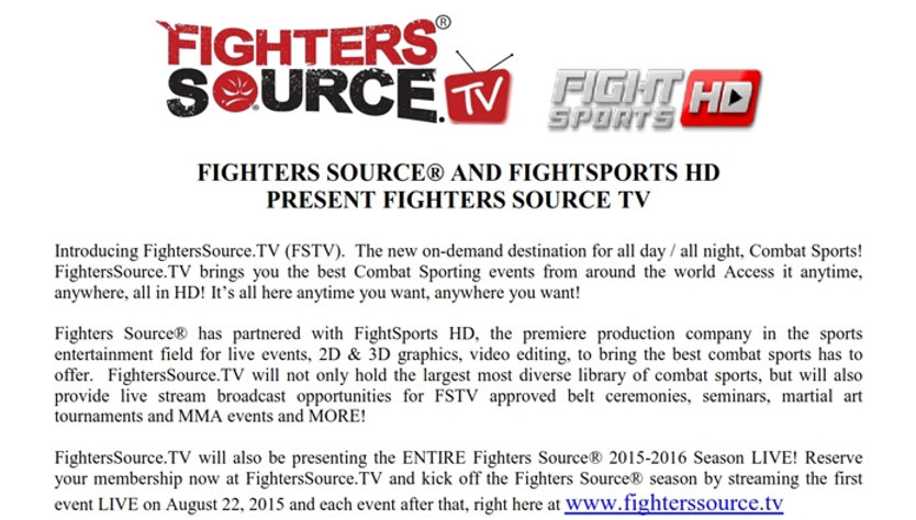 Fighters Source, Fighters Source League, Amateur MMA, MMA League, MMA News