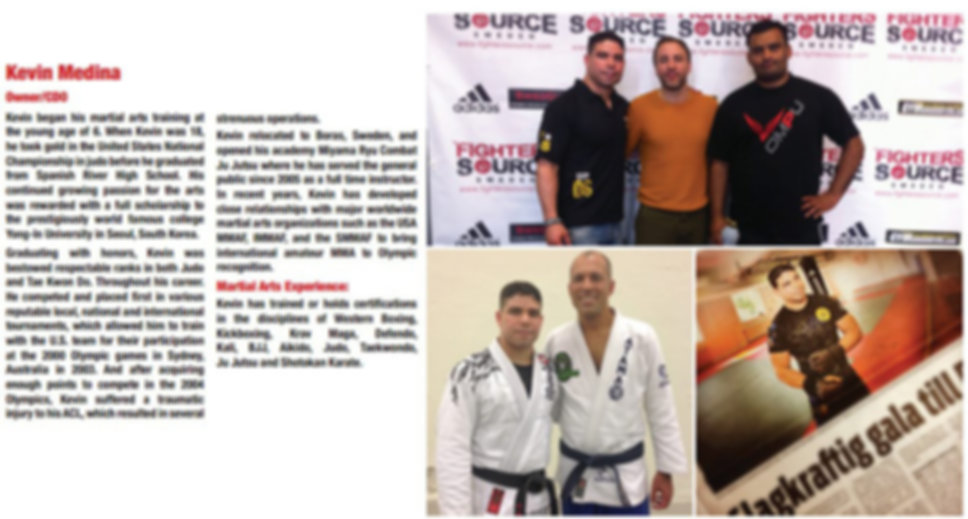 Fighters Source, Fighters Source League, Amateur MMA, MMA League, League Executives, Kevin Medina
