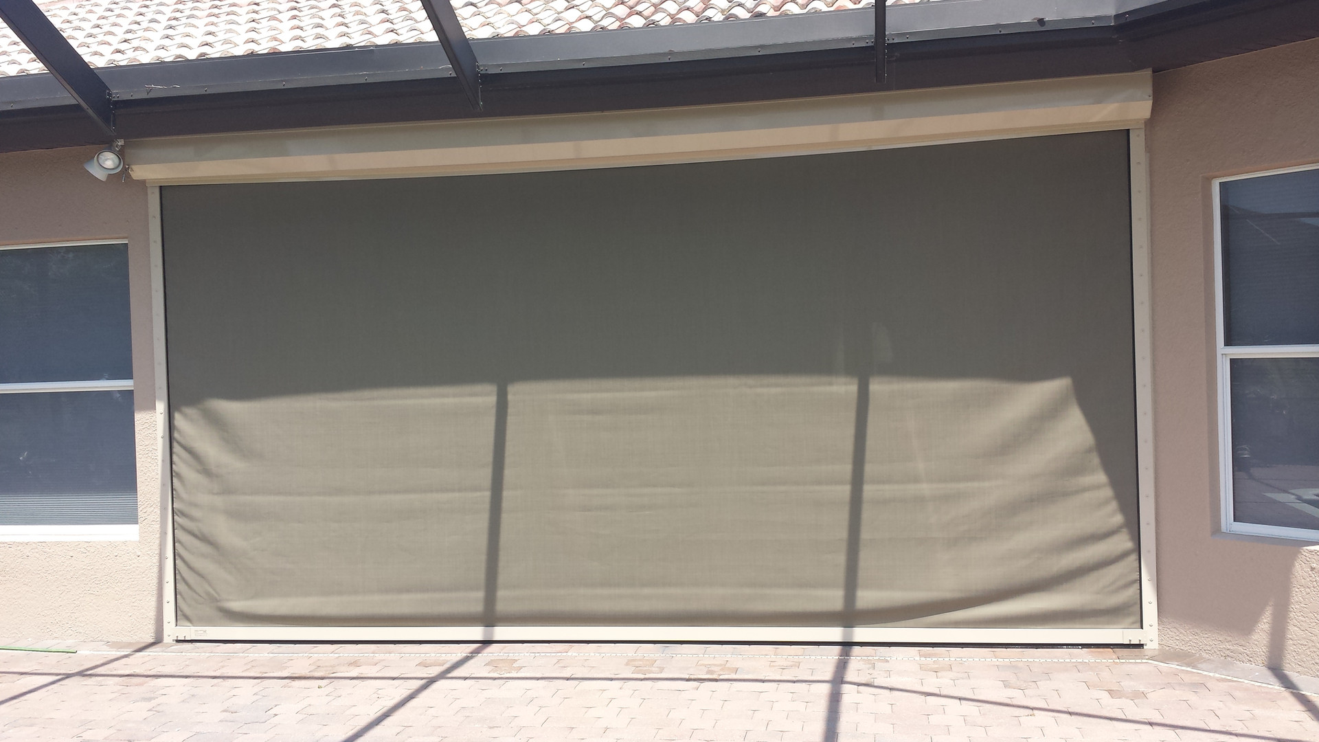 Fabric Roll Down Shutter